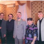 С Д.Крамером,Ф.Лахути+студ.