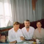 С И.Бутманом,В.Соломоновым,женой Татьяной