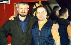 С Эдуардом (1999).