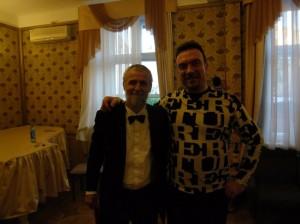 С Сергеем Жилиным.